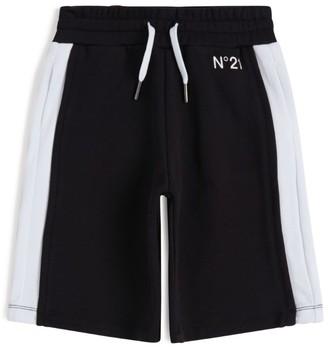 N°21 N21 Kids Colour-Block Shorts