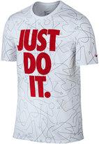 """Nike Big & Tall Dri-FIT """"Just Do It."""" Plays Tee"""
