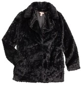 Ruby & Bloom Girl's Petal Faux Fur Coat