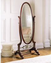 Powell Heirloom Cherry Cheval Floor Mirror