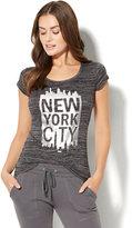 "New York & Co. Sparkling ""New York City"" Logo Tee"