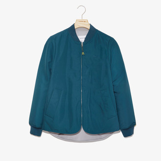 Lacoste Women's Quilted Reversible Rain Jacket