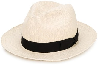 Yohji Yamamoto Bow Detail Fedora Hat
