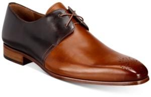 Mezlan Men's Rocky Two-Tone Medallion Oxfords Men's Shoes