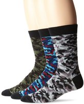 K. Bell Socks Men's Camo Crew 3 Pair Pack