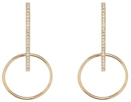 174c4ad23 Pave Bar Earrings - ShopStyle