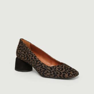 Castaner Marron Kael Leopard Print Heels - Marron | 36
