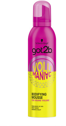 Schwarzkopf Got2B Volumaniac Mousse 250Ml