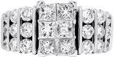 JCPenney FINE JEWELRY 3 CT. T.W. Diamond 14K White Gold Tiered Engagement Ring