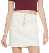 So Juniors' SO Exposed Button Twill Skirt