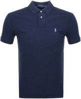 Ralph Lauren Slim Fit Polo T Shirt Navy