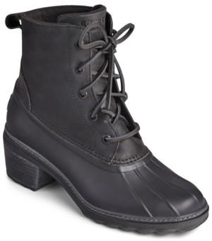Sperry Women's Saltwater Block-Heel Duck Boots Women's Shoes