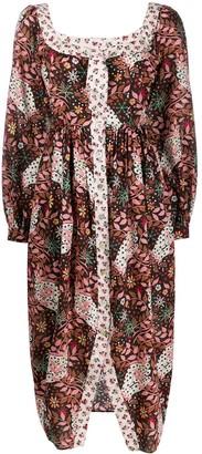 Liberty London Ianthe Valentine floral-print dress