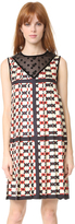 Marc Jacobs Sleeveless Dress with Collar