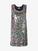 Mira Mikati Sequinned tank dress