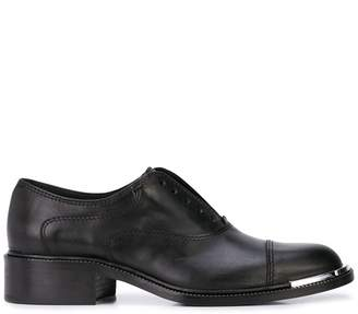 Barbara Bui contrast toe cap boots