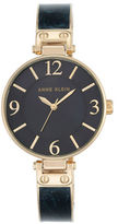 Anne Klein Round Bangle Watch