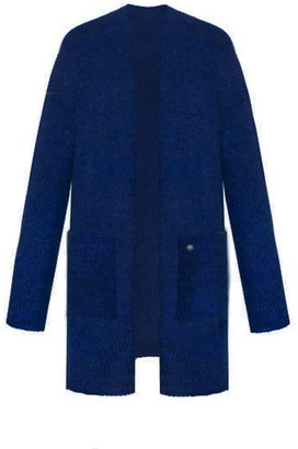You By Tokarska Liliana Cardigan With Pockets Navy Blue