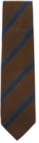 DeSanto Men's Ribs & Stripes Wool Tie