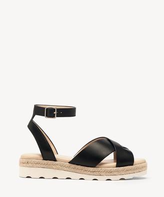Sole Society Women's Verryn Sport Tred Sandals Black Size 5 NEW VACHETTA From