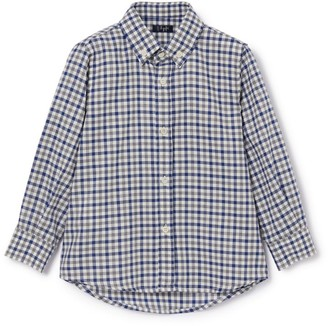 Il Gufo Checked Long-Sleeved Shirt (3-12 Years)