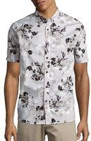 Howe Copia Floral-Print Cotton Sportshirt