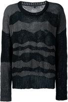 Ann Demeulemeester striped jumper