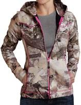 Roper Bonded Fleece Jacket - Hooded (For Women)