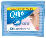 Q-Tips Q-tips Blue Purse Pack Cotton Swabs 30 ct