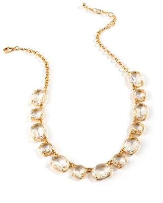 francesca's Beth Crystal Statement Necklace - Crystal
