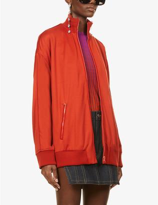 Fenty by Rihanna High-neck jersey tracksuit jacket