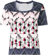 Marni patchwork T-shirt - women - Cotton - 38