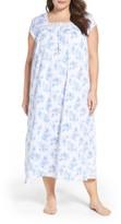 Eileen West Plus Size Women's Jersey Nightgown