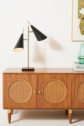 Anthropologie Owen Table Lamp By in Black Size ALL