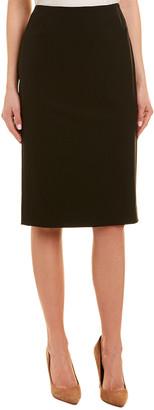 Lafayette 148 New York Modern Slim Wool-Blend Pencil Skirt
