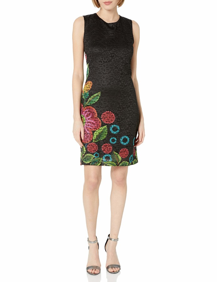 Desigual Womens Madrid Woven Sleeveless Dress