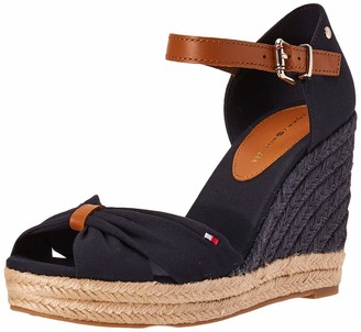 Tommy Hilfiger Women's Basic Opened Toe High Wedge Sandals
