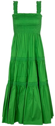 Tory Burch Cotton-blend maxi dress