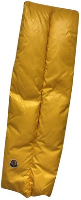 Moncler Yellow Synthetic Scarves & pocket squares