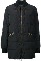 Moschino puffer bomber jacket - women - Polyester - 42