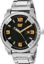 CAT WATCHES Men's 'Grid' Quartz Stainless Steel Automatic, Color:Silver-Toned (Model: SC14111127)