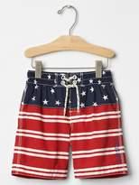 Stars & stripes swim trunks