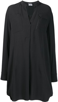 Brunello Cucinelli Long-Sleeve Shirt Dress
