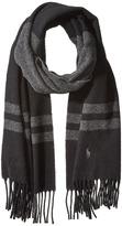 Polo Ralph Lauren Wool Blanket Stripe Scarf Scarves