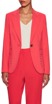 Escada Baldan Cotton Lapel Jacket