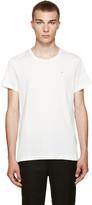 Acne Studios White Standard Face T-shirt