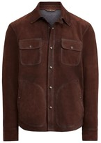 Polo Ralph Lauren Suede Shirt Jacket