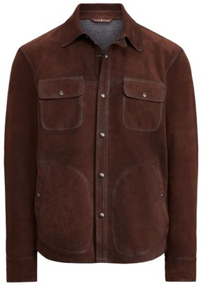 Polo Ralph Lauren Suede Shirt Jacket