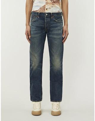 Ralph Lauren RRL Faded straight jeans