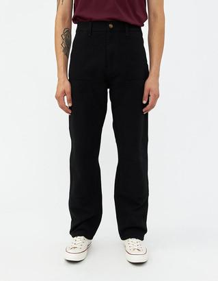 Carhartt Wip Double Knee Pant in Black